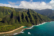 Kee Beach, Haena, Napali Coast, Kauai, Hawaii