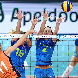 20150926: NED, Volleyball - 2015 CEV European Championship Women, Netherlands vs Slovenia