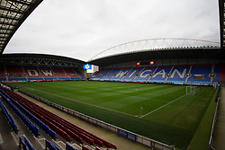 General view of the DW Stadium before the match - Mandatory by-line: Jack Phillips/JMP - 11/01/2020 - FOOTBALL - DW Stadium - Wigan, England - Wigan Athletic v Bristol City - English Football League Championship