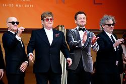 72nd Cannes Film Festival 2019, Red Carpet Rocketman. Pictured : Elton John, Taron Egerton