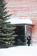 Guard at the Tomb of the Unknown Soldier, Moscow, Russia