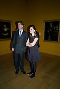 JAMIE SAVILE; KATE WELLESLEY-WESLEY, Van Dyck private view and dinner. Tate Britain. 16 February 2009 *** Local Caption *** -DO NOT ARCHIVE -Copyright Photograph by Dafydd Jones. 248 Clapham Rd. London SW9 0PZ. Tel 0207 820 0771. www.dafjones.com<br /> JAMIE SAVILE; KATE WELLESLEY-WESLEY, Van Dyck private view and dinner. Tate Britain. 16 February 2009