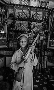 Dara village of guns. Pakistan Tribal area in 1980 PAK001