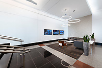 Interior design image of the lobby at Pinnacle Towers 2 in Tysons Corner VA by Jeffrey Sauers of Commercial Photographics, Architectural Photo Artistry in Washington DC, Virginia to Florida and PA to New England