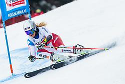 Corinne Suter (SUI) during Ladies' Giant Slalom at 57th Golden Fox event at Audi FIS Ski World Cup 2020/21, on January 17, 2021 in Podkoren, Kranjska Gora, Slovenia. Photo by Vid Ponikvar / Sportida