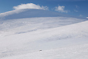 Saturday 26th January 2013: Blue sky and snow in Scotland. .Copyright 2013 Peter Horrell