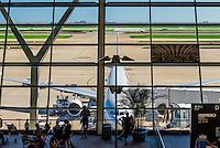 Shanghai Pudong International Airport, Shanghai, China.
