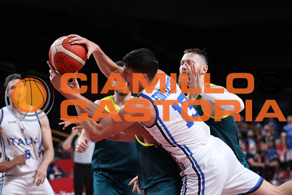 Fontecchio Simone<br /> Italia Italy - Australia Australia<br /> Olimpiadi Estive Tokyo 2020 - Fase a Gironi<br /> 2020 Summer Olympic Games - Group Phase<br /> Tokyo, 28/07/2021<br /> Foto A.Mehryar / Ciamillo-Castoria