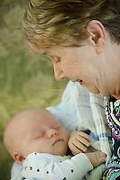 Beth Hamblet family session.  ©2014 Karen Bobotas Photographer