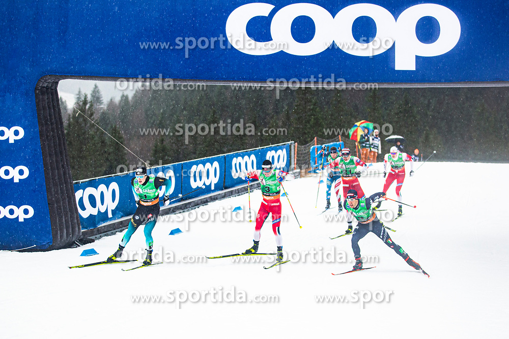 CHANAVAT Lucas (FRA), Federico PELLEGRINO (ITA) during the man team sprint race at FIS Cross Country World Cup Planica 2019, on December 1, 2019 at Planica, Slovenia. Photo By Peter Podobnik / Sportida