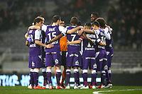 Joueurs de Toulouse - 28.02.2015 - Toulouse / Saint Etienne - 27eme journee de Ligue 1 -<br />Photo : Manuel Blondeau / Icon Sport