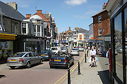 The centre of the Northamptonshire town of Rushden. A market town in East Nortamptonshire