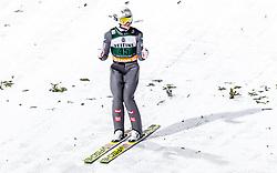 01.02.2019, Heini Klopfer Skiflugschanze, Oberstdorf, GER, FIS Weltcup Skiflug, Oberstdorf, Wertungsdurchgang, im Bild Daniel Huber (AUT) // Daniel Huber of Austria during his Competition Jump of FIS Ski Jumping World Cup at the Heini Klopfer Skiflugschanze in Oberstdorf, Germany on 2019/02/01. EXPA Pictures © 2019, PhotoCredit: EXPA/ JFK