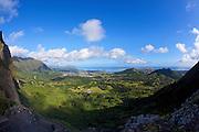 Nuuanu Pali Lookout, Windward Oahu, Hawaii