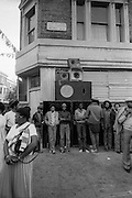 Notting Hill Carnival Sound System on All saints Road - 1979