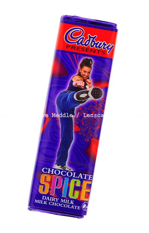 Cadbury Spice Girls Chocolate Bar - Oct 2009