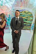 Reinaldo Avila da Silva, Serpentine's Summer party co-hosted with Christopher Kane. 15th Serpentine Pavilion designed by Spanish architects Selgascano. Kensington Gardens. London. 2 July 2015.