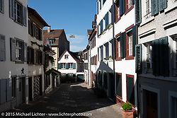 Touring Basel after the Art and Wheels art and motorcycle show, Switzerland. May 18, 2015. Photography ©2015 Michael Lichter.