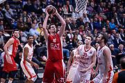 DESCRIZIONE : Milano Lega A 2015-16 Olimpia EA7 Emporio Armani Milano - Zagabria<br /> GIOCATORE : Stanko Barac<br /> CATEGORIA : Tiro<br /> SQUADRA : Olimpia EA7 Emporio Armani Milano<br /> EVENTO : Campionato Lega A 2015-2016<br /> GARA : Olimpia EA7 Emporio Armani Milano - Zagabria<br /> DATA : 05/11/2015<br /> SPORT : Pallacanestro<br /> AUTORE : Agenzia Ciamillo-Castoria/M.Ozbot<br /> Galleria : Lega Basket A 2015-2016 <br /> Fotonotizia: Milano Lega A 2015-16 Olimpia EA7 Emporio Armani Milano - Zagabria