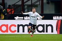 Esultanza gol di Emanuele Giaccherini Bologna 0-1. Celebration goal<br /> Milano 6-01-2016 Stadio Giuseppe Meazza - Football Calcio Serie A Milan - Bologna. Foto Giuseppe Celeste / Insidefoto