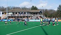 LAREN - Hockey - Hoofdklasse competitie dames . Laren-Den Bosch (1-2).  clubhuis Laren.  COPYRIGHT KOEN SUYK