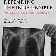Cover image for Geoffrey Tweedle and Jock McCulloch's book on asbestos.