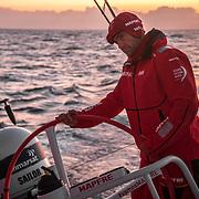 Leg 01, Alicante to Lisbon, day 04, on board MAPFRE. Photo by Ugo Fonolla/Volvo Ocean Race. 25 October, 2017