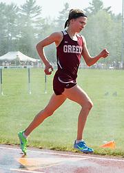 Sandrueter, girls 3200 meters, Maine State Track & FIeld Meet - Class B