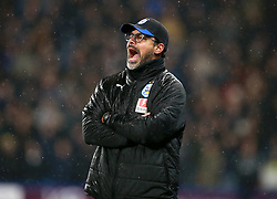 Huddersfield Town's manager David Wagner during the Premier League match at the John Smith's Stadium, Huddersfield.