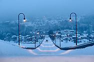 You might have heard of the town of Lillehammer thanks to the Winter Olympic Games that were held there in 1994. <br /> But among Norwegians, Lillehammer was always known as a favourite location for artists. Situated 2-hour drive north of Oslo, the town looks absolutely surreal during the short winter days.