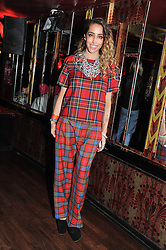 DELILAH at the JW Anderson Top Shop Party held at Madame Jojo's, 8-10 Brewer Street, London W1 on 17th September 2012.