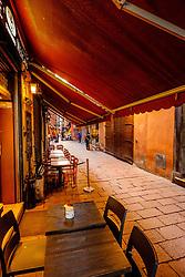 early morning in a street in Bologna, Italy<br /> <br /> (c) Andrew Wilson   Edinburgh Elite media