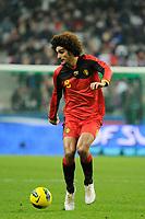 FOOTBALL - FRIENDLY GAME 2011 - FRANCE v BELGIUM - 15/11/2011 - PHOTO JEAN MARIE HERVIO / DPPI - MAROUANE FELLAINI (BEL)