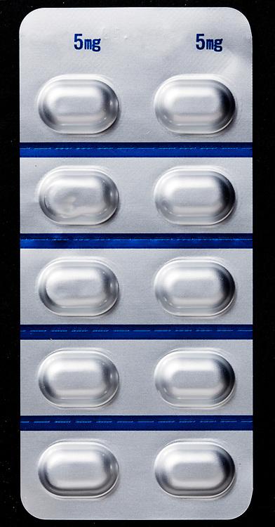 medical pills blister pack