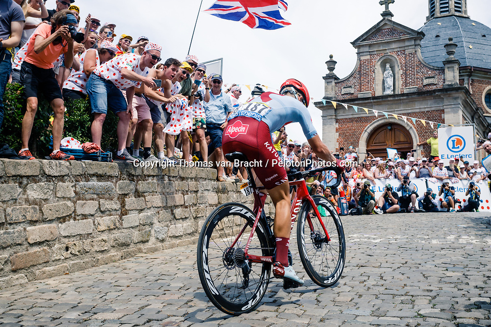 Stage 1 from Bruxelles to Brussel of the 106th Tour de France, 6 July 2019. Photo by Thomas van Bracht / PelotonPhotos.com   All photos usage must carry mandatory copyright credit (Peloton Photos   Thomas van Bracht)