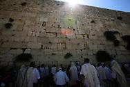 The Western Wailing Wall in Jesusalem<br /> Photo by Dennis Brack