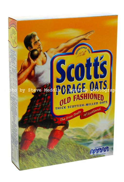Box of Scott's Porage Oats
