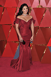 Vanessa Laine Bryant walking on the red carpet during the 90th Academy Awards ceremony, presented by the Academy of Motion Picture Arts and Sciences, held at the Dolby Theatre in Hollywood, California on March 4, 2018. (Photo by Sthanlee Mirador/Sipa USA)