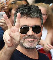 Simon Cowell, The X Factor - London first round auditions, ExCeL London Exhibition Centre, London UK, 19 June 2016, Photo by Richard Goldschmidt