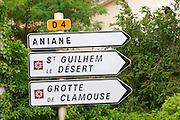 D4, Aniane, St Guilhem le Desert, Grotte de Clamouse. Languedoc. France. Europe.