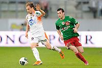 FOOTBALL - FRENCH CHAMPIONSHIP 2010/2011 - L2 - CS SEDAN v STADE LAVALLOIS - 22/04/2011 - PHOTO GUILLAUME RAMON / DPPI - LUDOVIC GENEST (LAVAL)
