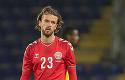 Lucas Andersen (Danmark) under venskabskampen mellem Danmark og Sverige den 11. november 2020 på Brøndby Stadion (Foto: Claus Birch).