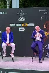 ADRIANO GALLIANI E GIUSEPPE MAROTTA  <br /> INAUGURAZIONE CALCIOMERCATO 2021 GRAND HOTEL RIMINI