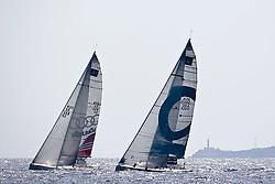 08_013246  © Sander van der Borch. Porto Portals, Mallorca,  July 24th 2008. AUDI MEDCUP in Porto Portals  (21/26 July 2008). Coastal race.