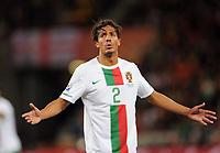 Fotball<br /> VM 2010<br /> 29.06.2010<br /> Spania v Portugal<br /> Foto: Witters/Digitalsport<br /> NORWAY ONLY<br /> <br /> Bruno Alves (Portugal)<br /> Fussball WM 2010 in Suedafrika, Achtelfinale, Spanien - Portugal