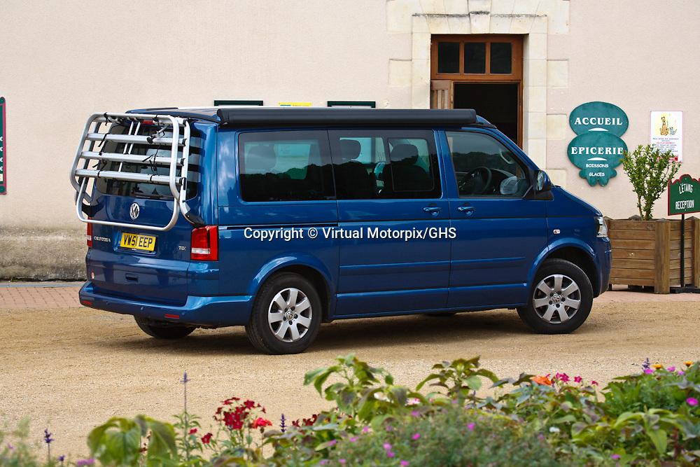 VW California TDI (2011), Loire Valley, France