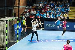 Kojic Ana of RK Krim Mercator during handball match between RK Krim Mercator and Brest Bretagne Handball in 2nd main round of Women's DELO EHF Champions League 2019/20, on February 2, 2020 in Kodeljevo, Ljubljana,  Slovenia. Photo Grega Valancic / Sportida