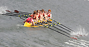Eton,  GREAT BRITAIN.  School First Eight,  Monmouth School move away from the start,  at the start,  at the Eton Schools' Regatta, Eton Rowing Centre, Dorney Lake. [Finish of cancelled National Schools Regatta], Saturday, 07/06/2008  [Mandatory Credit:  Peter SPURRIER / Intersport Images] . Rowing Courses, Dorney Lake, Eton. ENGLAND