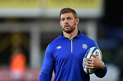 Dave Attwood of Bath Rugby looks on prior to the match - Mandatory byline: Patrick Khachfe/JMP - 07966 386802 - 05/10/2018 - RUGBY UNION - The Recreation Ground - London, England - Bath Rugby v Exeter Chiefs - Gallagher Premiership Rugby