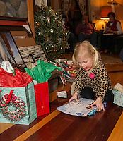 Yankee Swap Christmas  ©2015 Karen Bobotas Photographer